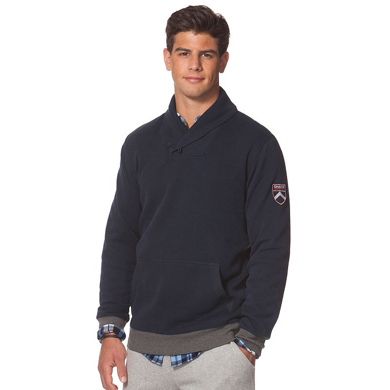 Men's Chaps Classic-Fit Shawl-Collar Pullover