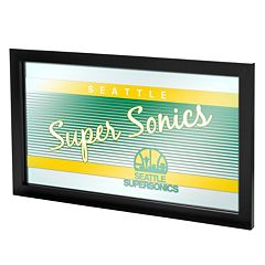 Seattle Super Sonics Hardwood Classics Framed Logo Wall Art