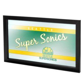 Seattle Super Sonics Hardwood Classics Framed Logo Wall Art