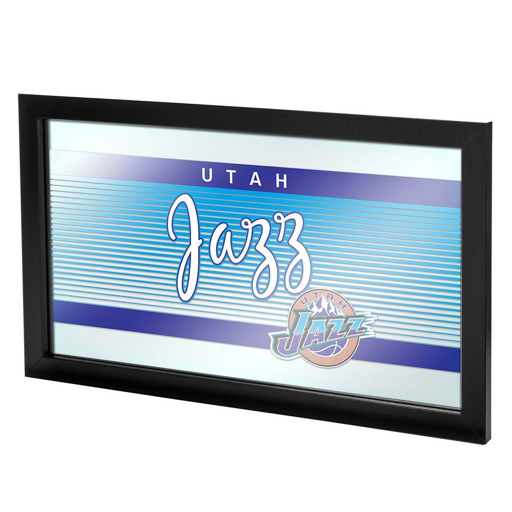 Utah Jazz Hardwood Classics Framed Logo Wall Art
