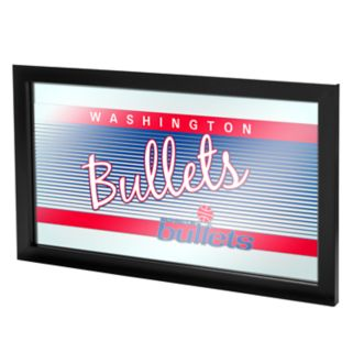 Washington Bullets Hardwood Classics Framed Logo Wall Art