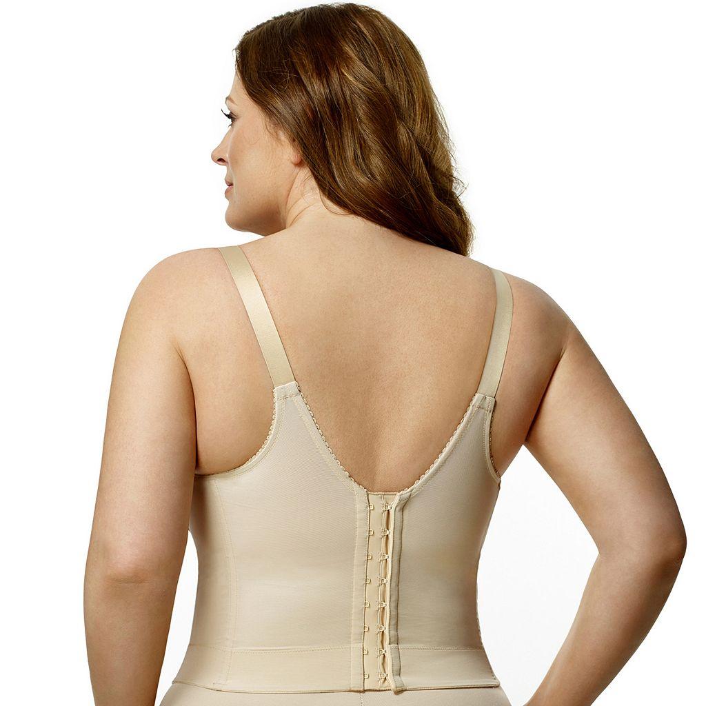 Elila Bra: Embroidered Full-Figure Longline Bra 5001