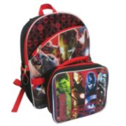 Marvel Avengers: Age of Ultron Backpack & Lunch Bag Set - Kids