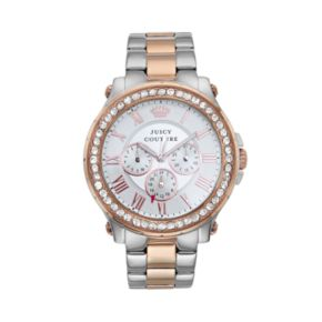 Juicy Couture Women's Pedigree Crystal Two Tone Watch - 1901255