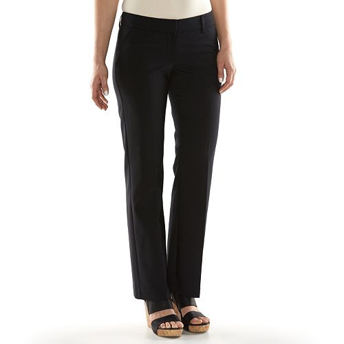 10e558df6f8 Women s Apt. 9® Torie Modern Fit Straight-Leg Dress Pants