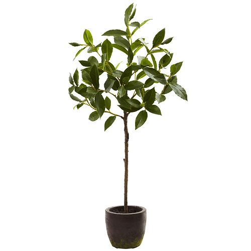 nearly natural 29-in. Topiary Decorative Planter