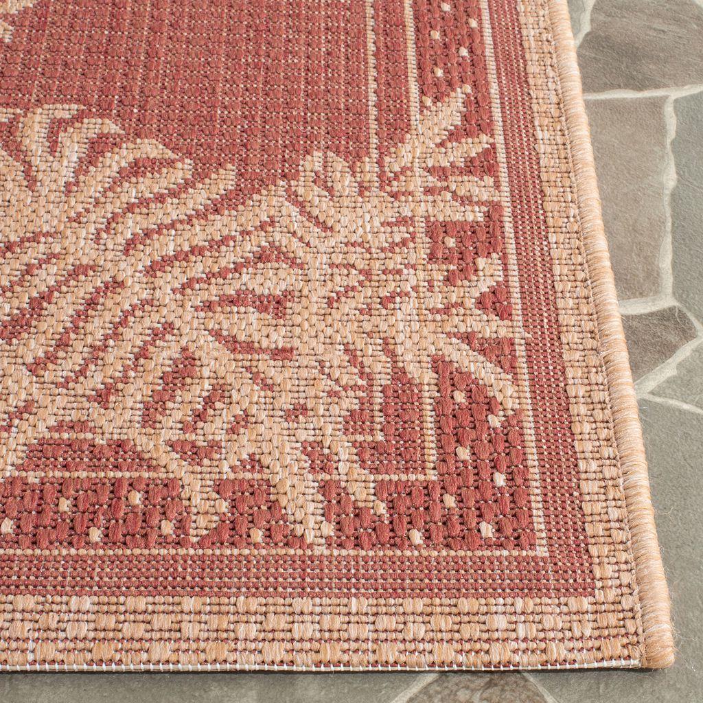 Safavieh Courtyard Leaf Indoor Outdoor Rug