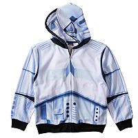 Boys 8-20 Star Wars Stormtrooper Sublimated Full-Zip Hoodie