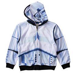 Boys 8-20 Star Wars Stormtrooper Sublimated Full-Zip Hoodie