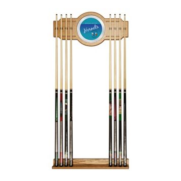 Charlotte Hornets Hardwood Classics Billiard Cue Rack with Mirror