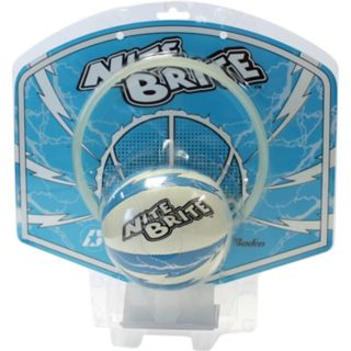 Baden Nite Brite Glow-In-The-Dark Mini Ball & Hoop Set