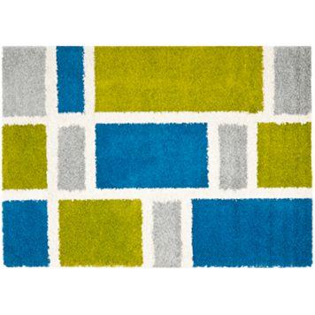 Safavieh Shag Modern Geometric Rug