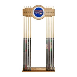Denver Nuggets Hardwood Classics Billiard Cue Rack with Mirror