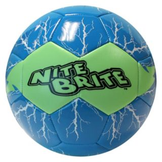 Baden Nite Brite Lightning Glow-In-The-Dark Size 4 Soccer Ball