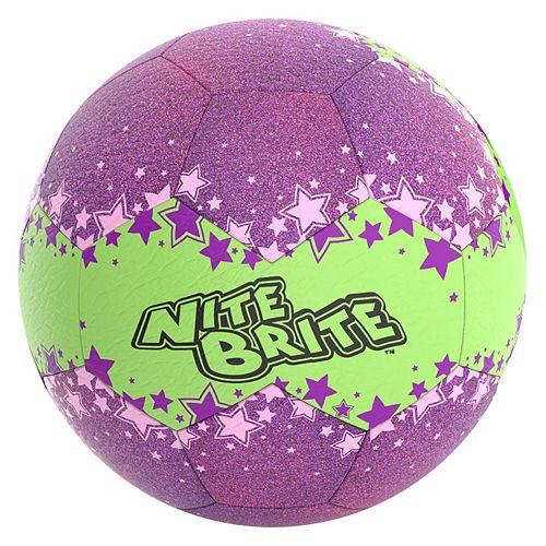 Baden Nite Brite Stars Glow-In-The-Dark Size 4 Soccer Ball