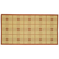 Safavieh Courtyard Plaid Indoor Outdoor Rug