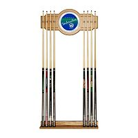Minnesota Timberwolves Hardwood Classics Billiard Cue Rack with Mirror