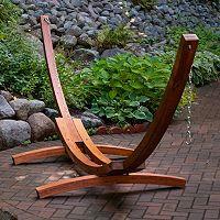 Algoma 15-ft. Russian Pine Arc Hammock Frame