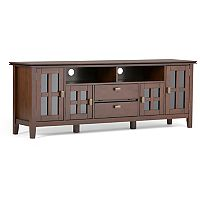 Simpli Home Artisan 72 in TV Stand