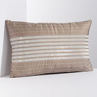 Simply Vera Vera Wang Sequin Stripe Throw Pillow