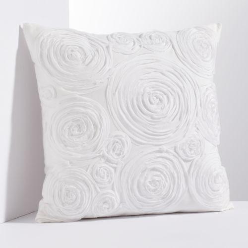 Simply Vera Vera Wang Floral Applique Throw Pillow