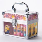 Despicable Me Minion Train Case Lip Balm Set