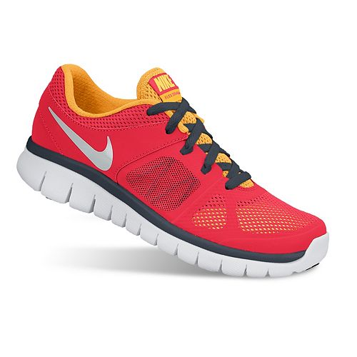 e7aa196f56a30b Nike Flex Run Running Shoes - Grade School Boys