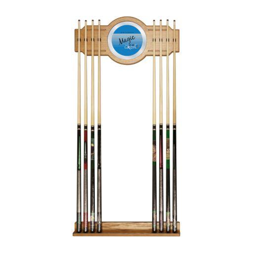 Orlando Magic Hardwood Classics Billiard Cue Rack with Mirror