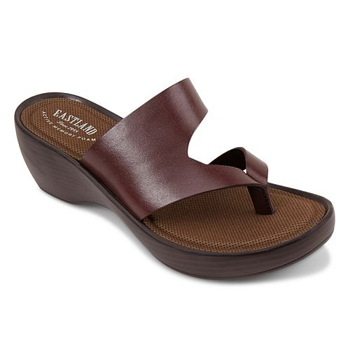 Eastland Laurel Women's Thong Wedge Sandals
