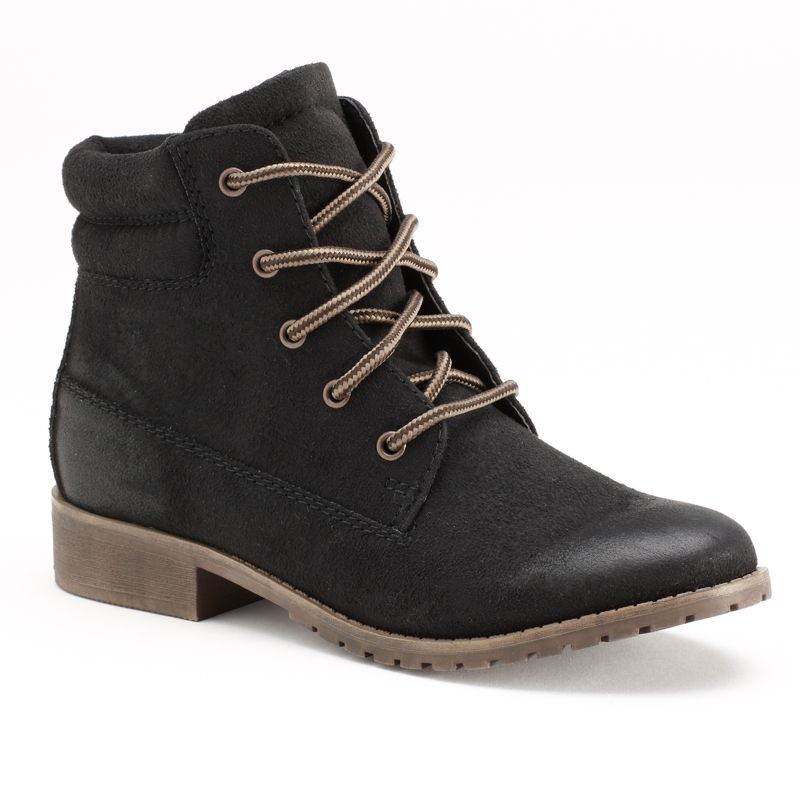 lace up ankle boots kohl s