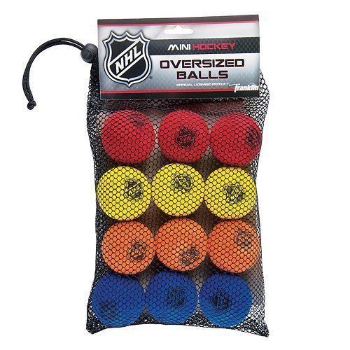 Franklin Sports 12-pk. NHL Foam Mini Street Hockey Ball