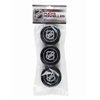 Franklin Sports 3-pk. NHL Foam Mini Street Hockey Pucks