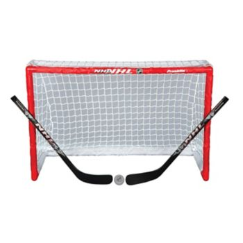 Franklin Sports NHL Elite Mini Street Hockey Goal Set