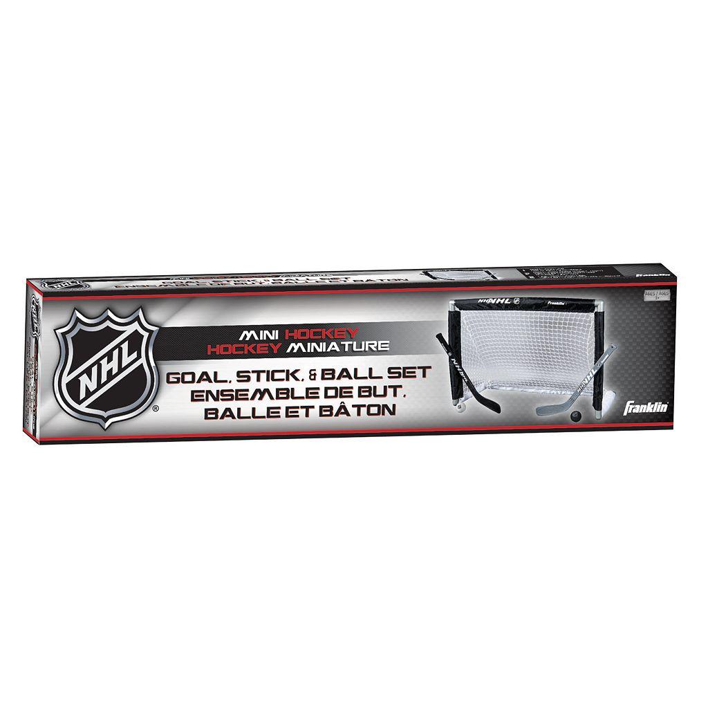 Franklin NHL Mini Street Hockey Goal Set