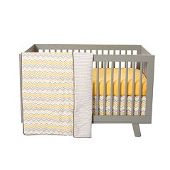 Trend Lab 3-pc. Chevron Crib Bedding Set