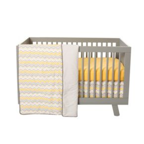 Trend Lab 3-pc. Chevron Crib Bedding Set
