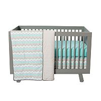 Trend Lab 3 pc Chevron Crib Bedding Set