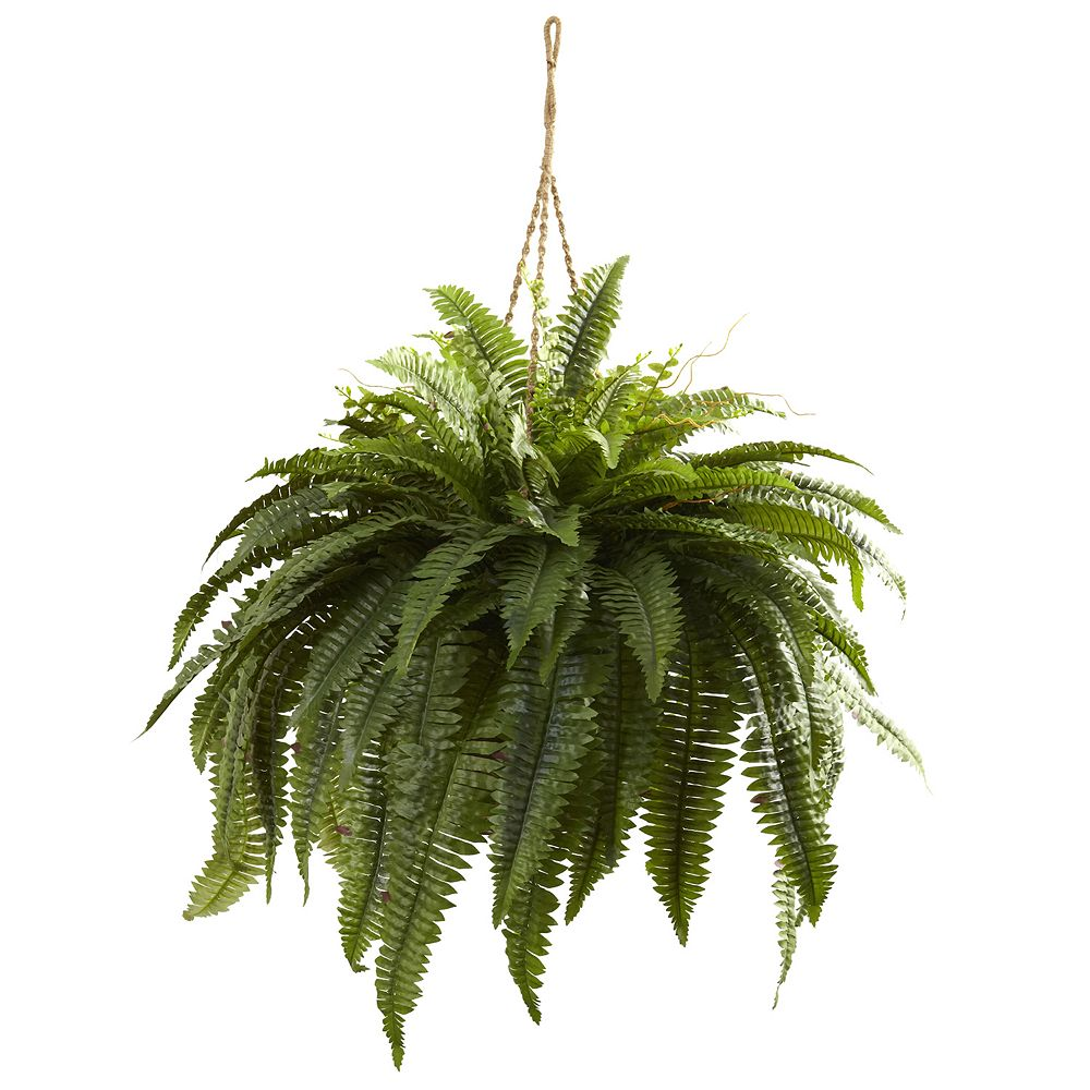 nearly natural Double Giant Hanging Boston Fern