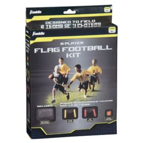 Franklin Sports 8-Player Youth Flag Football Kit