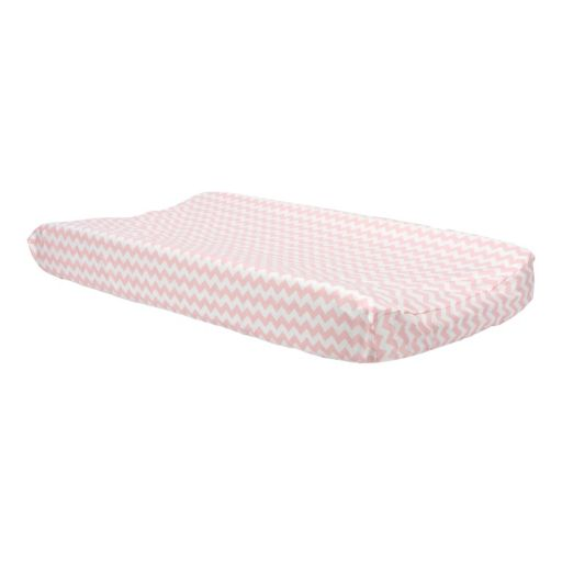 Trend Lab Pink Print Changing Pad Cover