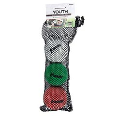 Franklin Sports 3 pk Lacrosse Balls - Youth