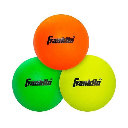 Franklin Sports 3-pk.  Lacrosse Balls - Youth