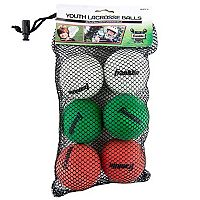 Franklin 6-pk. Lacrosse Balls - Youth