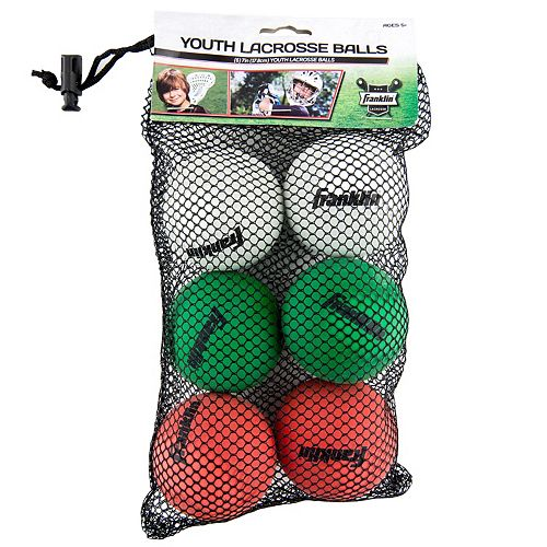 Franklin Sports 6-pk.  Lacrosse Balls - Youth