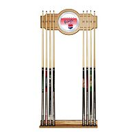 Sacramento Kings Hardwood Classics Billiard Cue Rack with Mirror