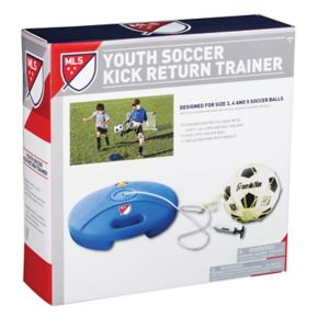 Franklin Sports MLS Soccer Kick Return Trainer & Ball Set - Youth