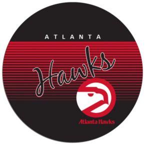 Atlanta Hawks Hardwood Classics Chrome Pub Table