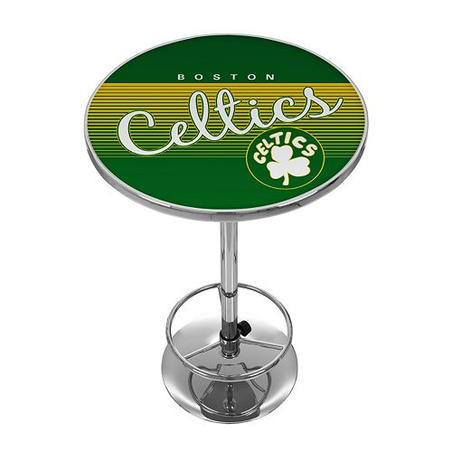 Boston Celtics Hardwood Classics Chrome Pub Table