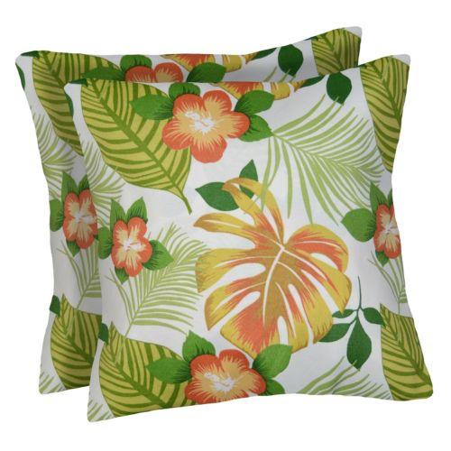 Spencer Home Decor 2-piece Hanko Pina Colada Throw Pillow Set