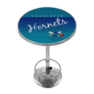 Charlotte Hornets Hardwood Classics Chrome Pub Table
